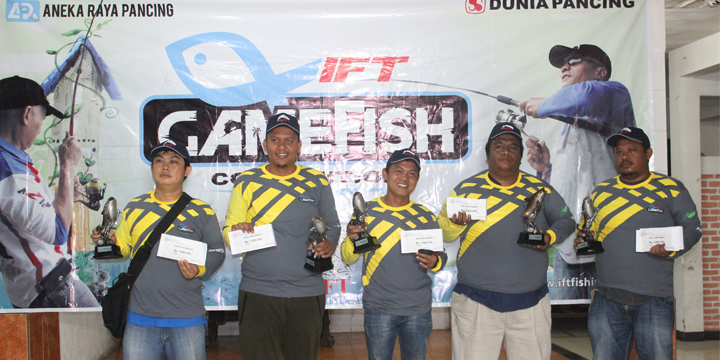 Report: IFT Game Fish Patin Tahap 1- 2017